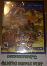 NEW WILD GUNS RELOADED + LIMITED EDITION KEYCHAIN (PLAYSTATION 4, PS4) NATSUME