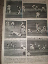 Photo article cricket England win ashes Adelaide Australia 4th test 1955 ref Z