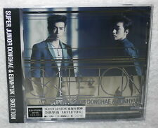 DONGHAE & EUNHYUK SKELETON 2014 Taiwan Ltd CD+DVD+Card (Super Junior)
