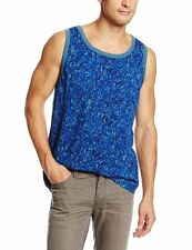 WeSC Niccolo Greek Blue Tank in XL