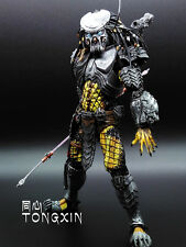 "7.8"" Marvel The Predator Celtic Captain toy Hot Action Statue Figure Crazy Toys"