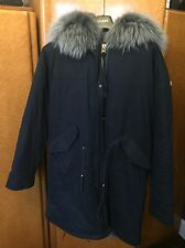 Long Real Fur Parka With Fur /wool Mix Lining-LOOKING FOR A QUICK SALE!!!