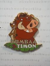 2002 Disney Channel TV Show PUMBAA & TIMON The Lion King 12 Months of Magic Pin