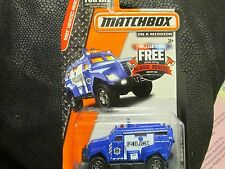 MATCHBOX POLICE SWAT TRUCK NEW ON CARD
