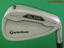 NEW TaylorMade SLDR Pitching Wedge PW Steel KBS C-Taper 90 Stiff Mens Right Hand