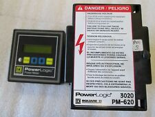 SQUARE D POWERLOGIC POWER METER 3020 PMD 32 & PM 620 POWER LOGIC METER 3020PM650