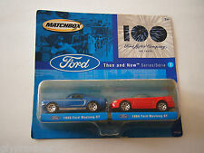 MATCHBOX - FORD MOTOR COMPANY - 100 YEARS - THEN AND NOW SERIES #2 1968 & 1999