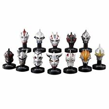 Bandai 1/6 Ultraman Head Mask Mascolle Collection Vol.4 Set 13x Light w/ SP Ver.