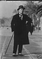 Fascist Leader Benito Mussolini il Duce Italy, 5.5x4 inch Reprint Photo