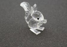 Swarovski Crystal  Retired Long Ear SquIrrel 7662 NR 42- no box