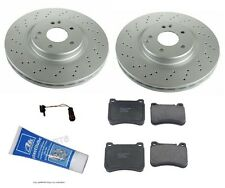 NEW Mercedes R171 W203 SLK350 CLK350 C230 Complete Front Brake KIT High Value