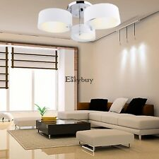 Modern 3 Acrylic Lights Ceiling Chandelier Dining Room Bedroom Lighting Fixture