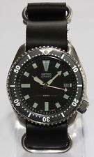 SEIKO 7002-700J Vintage Diver Bond Watch Classic Dial Automatic ZULU Strap