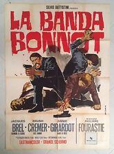 MANIFESTO ORIGINALE 2F LA BANDA BONNOT ANNIE GIRARDOT CREMER FOURASTIE SYMEONI