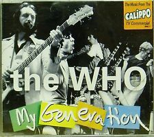 THE WHO 'MY GENERATION' 4-TRACK CD SINGLE