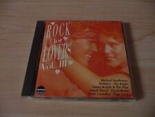 CD Rock for Lovers Vol 3: Richard Sanderson Udo Lindenberg Peter Cornelius Frank