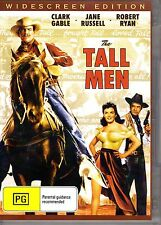 THE TALL MEN - CLARK GABLE, JANE RUSSELL & ROBERT RYAN NEW SEALED ALL REGION DVD