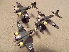 Flames of War 15mm, 1/144 Scale painted German JU-88 Aircraft (3)