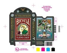 Bicycle Celtic Playing Cards Asymmetrical Blue Deck Brand New