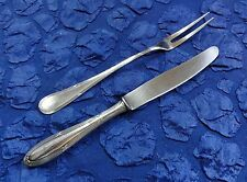 Felix, Solingen Kreuzband - 1 Fleischgabel + 1 Messer - Silber-plated (787