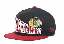 Chicago Blackhawks New Era Hat SnapBack Hat 9FIFTY Snapback Cap!