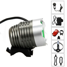 4000Lm CREE T6 LED 3 Modes Head Bicycle Lamp Bike Light Headlight Cycling Torch