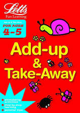 Add Up and Take Away Age 4-5 by Letts Educational
