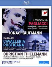 Mascagni: Cavalleria Rusticana - Leoncavallo: Pagliacci [Blu-ray], New DVDs
