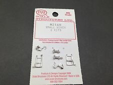HO 1/87 Alloy Forms Scale Structures # 2168 Small Winch Kit (2 peices)
