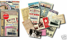 Titanic Memorabilia Gift Pack with over 20 pieces of Replica Artwork