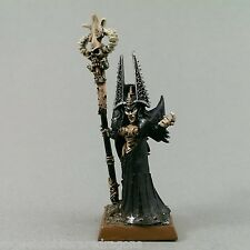 Dark Elves Sorceress Painted Warhammer Fantasy METAL WHFB Elve Citadel Miniature