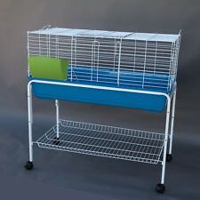 Flyline Bunny Hotel 100 Rabbit Guinea Pig Cage with Stand 100-830