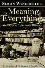 The Meaning of Everything: The Story of the Oxford English Dictionary,GOOD Book