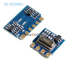 H5V4D 5V 433MHz MINI Wireless Transmitter Module+Receiver Module Transceiver