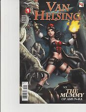 Van Helsing vs The Mummy #1 Cover D Zenescope Comic GFT NM Metcalf