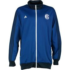 ADIDAS MENS SCHALKE S04 TRACK TOPS OFFICIAL LICENSED PRODUCT(ORIGINAL)
