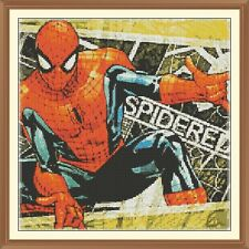 SPIDERMAN 5 cross stitch chart 12.0 x 12.0 pollici