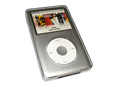 Chiaro Custodia Rigida per Apple iPod Classic Skin Case Cover + Clip da Cintura
