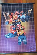 "TRANSFORMERS ""PREDAKING - G1"" 60cm X 90cm ANIME CLOTH WALL SCROLL DECEPTICON"