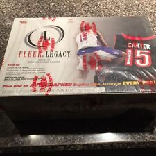 2000-01 Fleer Legacy Basketball Hobby box ( ONE REPLICA AUTO JERSEY PER BOX)