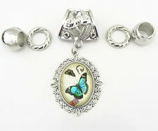 Fashion DIY Necklace Jewelry Scarf  Butterfly  pendant set Charms @+19