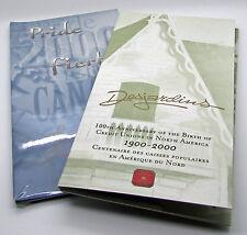 Canada 2000 10th Anniversary 10 Cents Desjardins 2000 Pride 25 Cents Quarter