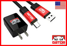 Micro USB Cable SYNC Data +Home Charger Samsung S3 S4 S6 HTC Android Gator Cable