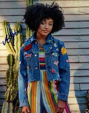 Amandla Stenberg w/ COA signed 8x10 autograph photo Hunger Games Actress