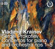 Prokofiev - Piano Ctos 1-5 [New CD]