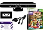 Kinect sensor BUNDLE , XBOX 360 with GAME and POWER ADAPTER, FAST DISPATCH