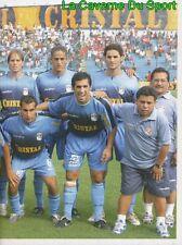 056 TEAM SQUADRA 2/2  SPORTING CRISTAL PERU STICKER PRIMERA DIVISION 2006 PANINI