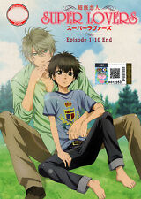 Super Lovers DVD Complete 1-10 - Anime - USA Ship Fast
