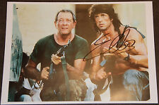 Autograph RAMBO SYLVESTER STALLONE COA signed