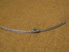███►altes wunderschönes Armband mit Saphir/835er Silber (Fach 37)